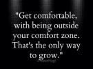 De comfort zone